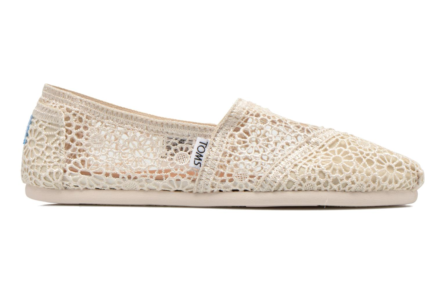Trainers TOMS Alpargata Beige back view