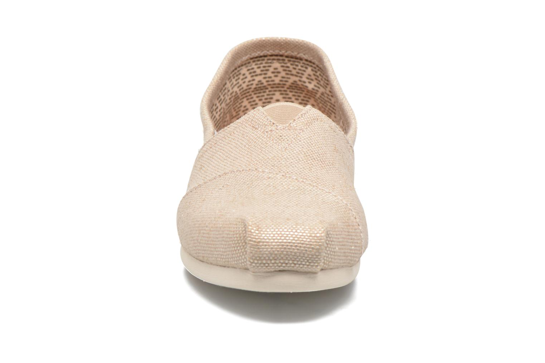 Sneaker TOMS Alpargata beige schuhe getragen