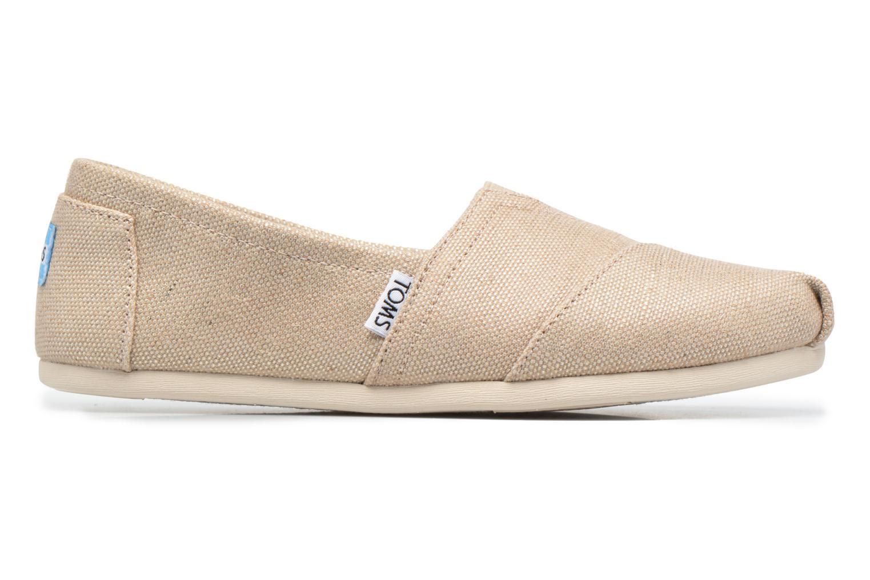 Sneaker TOMS Alpargata beige ansicht von hinten