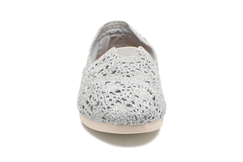 Espadrilles TOMS Seasonal Classics F Argent vue portées chaussures