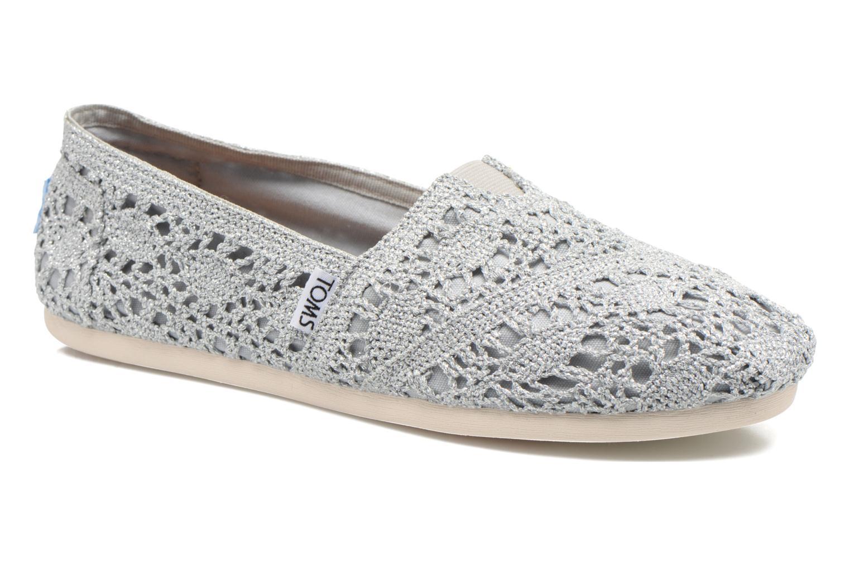 Seasonal Classics F Silver Crochet Metallic