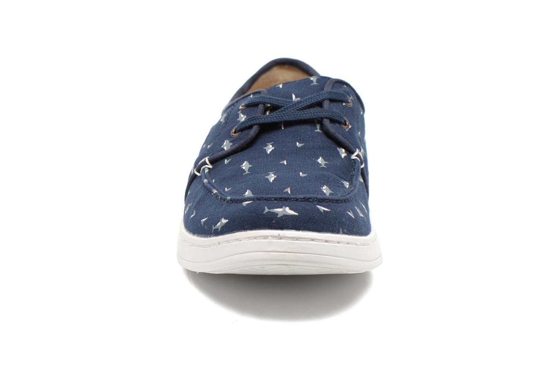 Chaussures à lacets TOMS Culver Lace Up Bleu vue portées chaussures