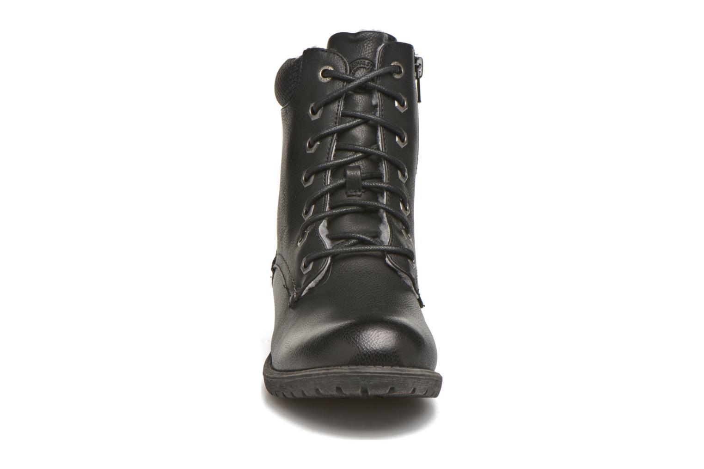Stiefeletten & Boots Bullboxer Antona schwarz schuhe getragen