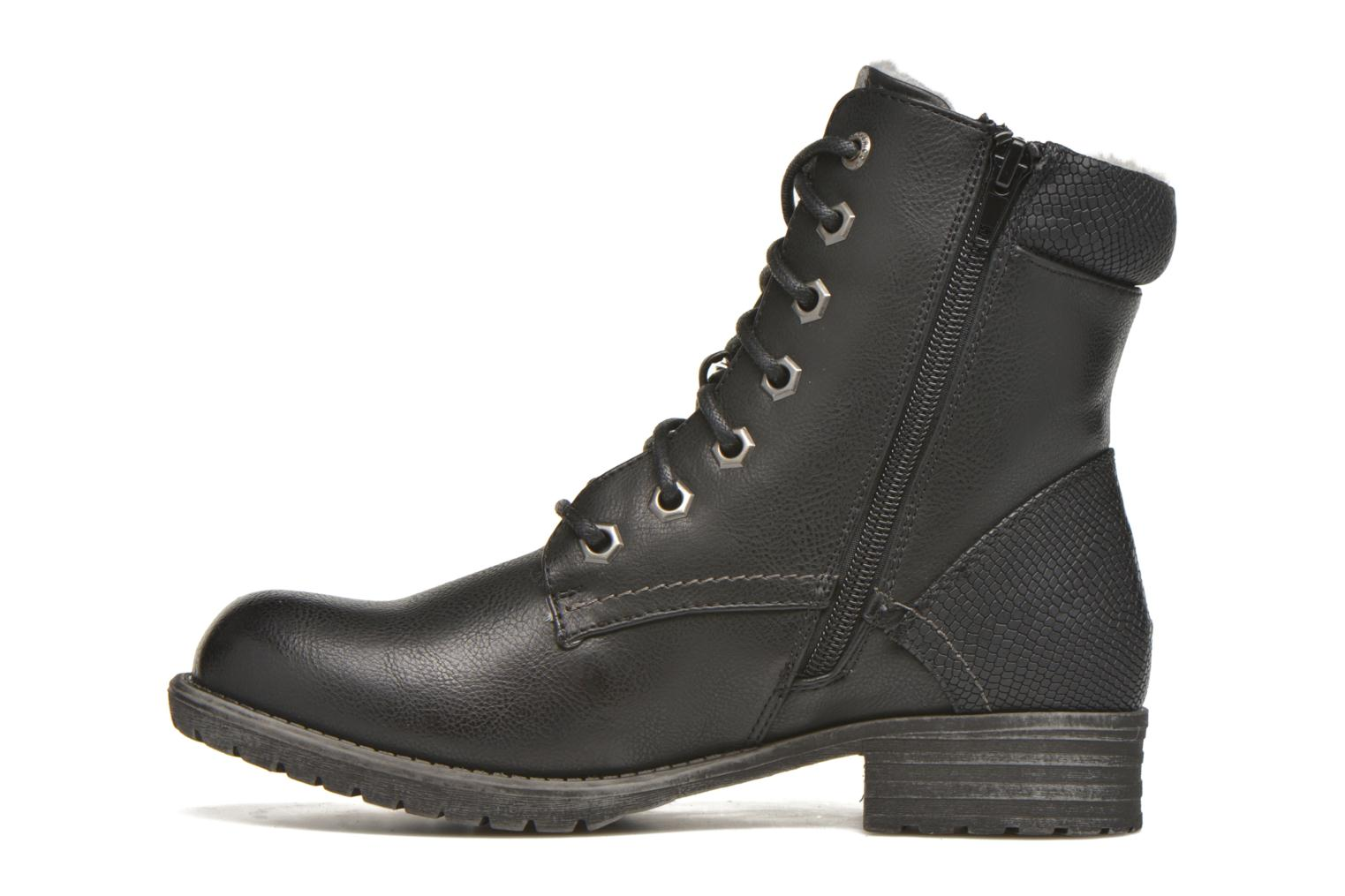 Ankle boots Bullboxer Antona Black front view