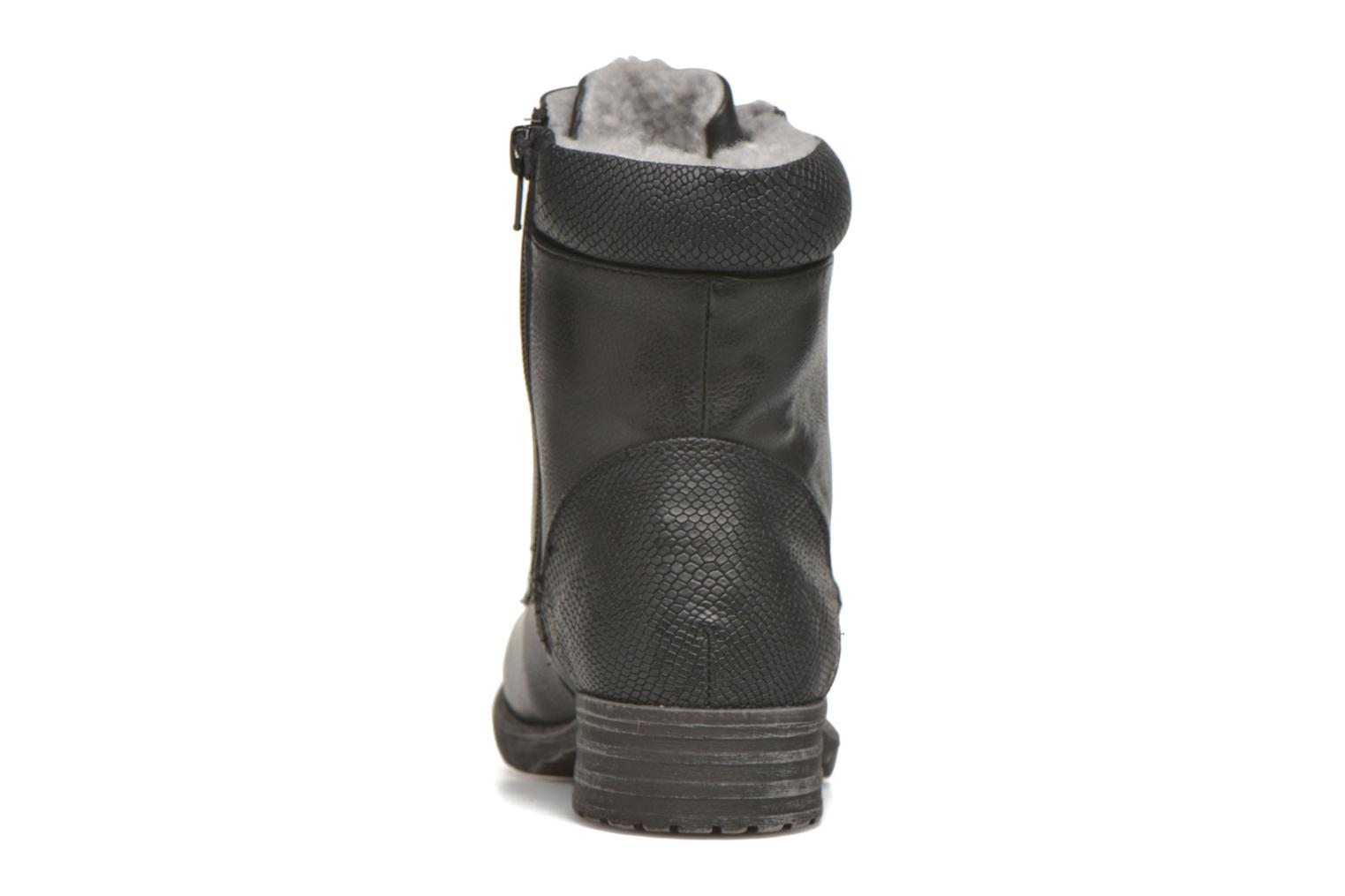 Ankle boots Bullboxer Antona Black view from the right