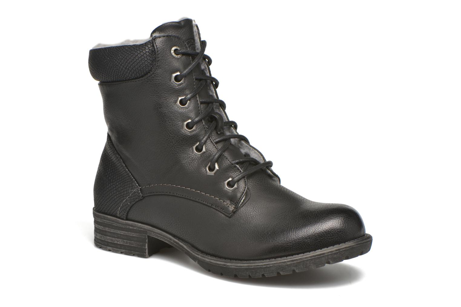 Ankle boots Bullboxer Antona Black detailed view/ Pair view