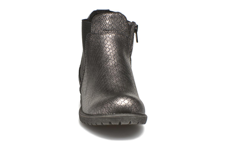 Bottines et boots Bullboxer Camilla Argent vue portées chaussures