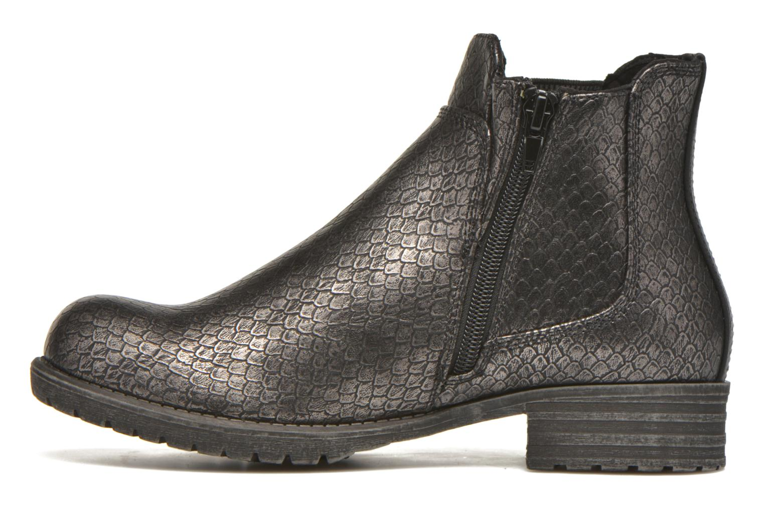 Ankle boots Bullboxer Camilla Silver front view