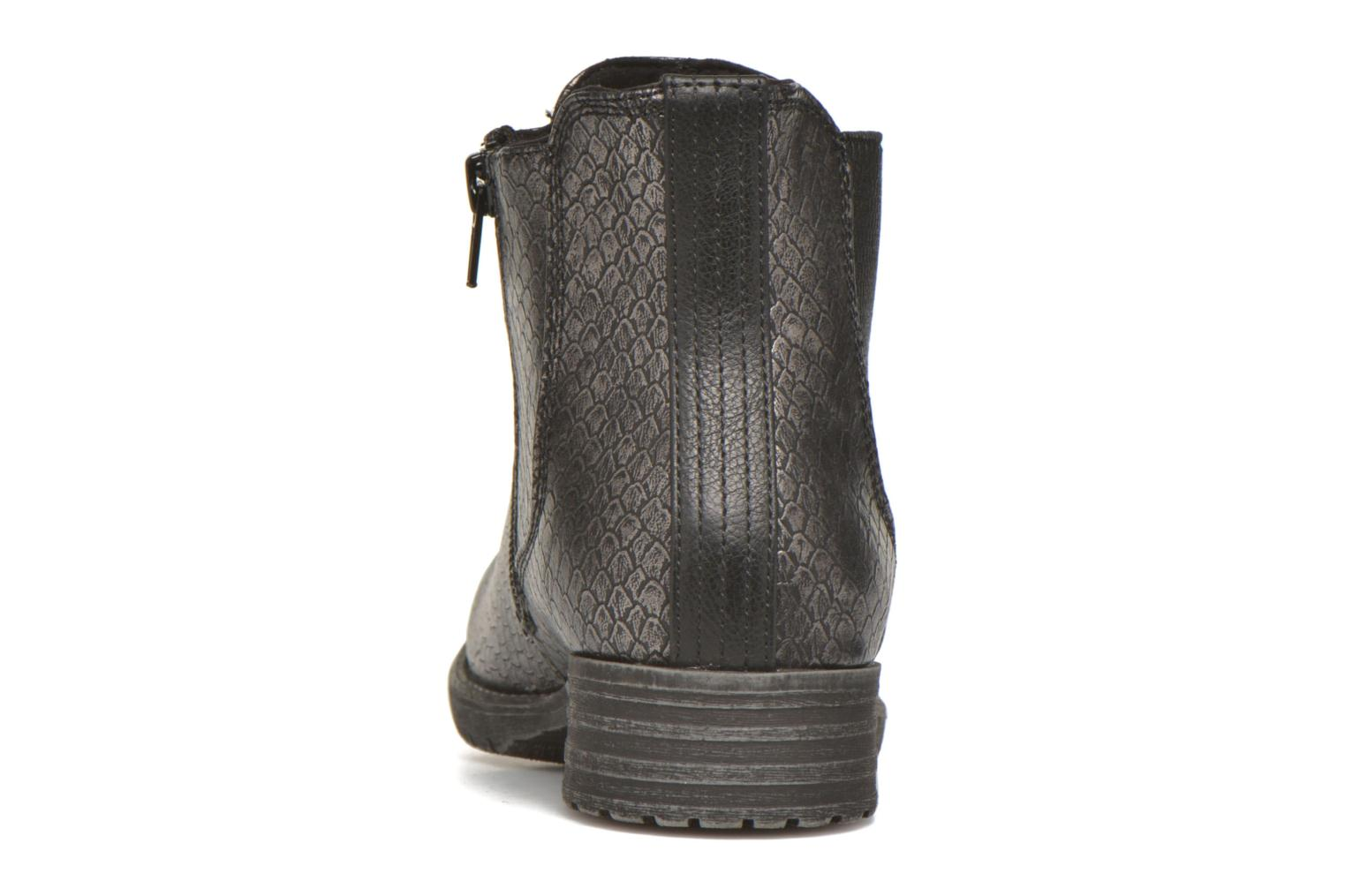 Ankle boots Bullboxer Camilla Silver view from the right