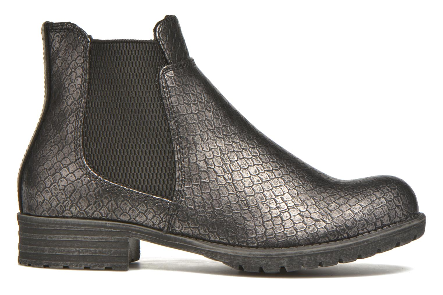 Ankle boots Bullboxer Camilla Silver back view