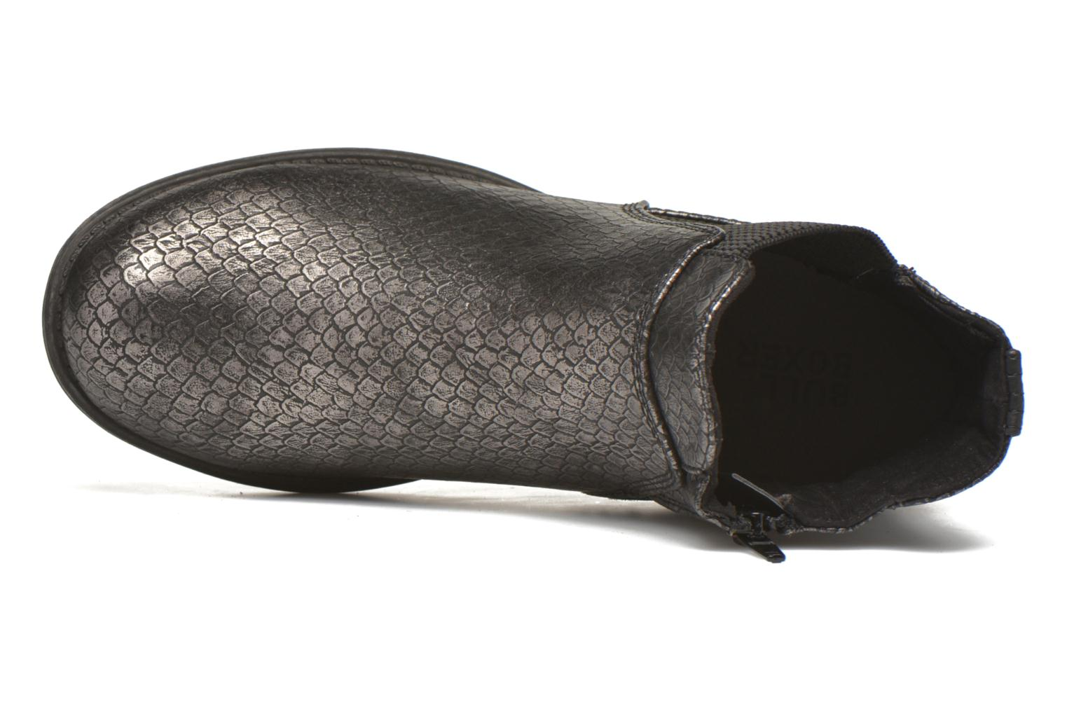 Ankle boots Bullboxer Camilla Silver view from the left