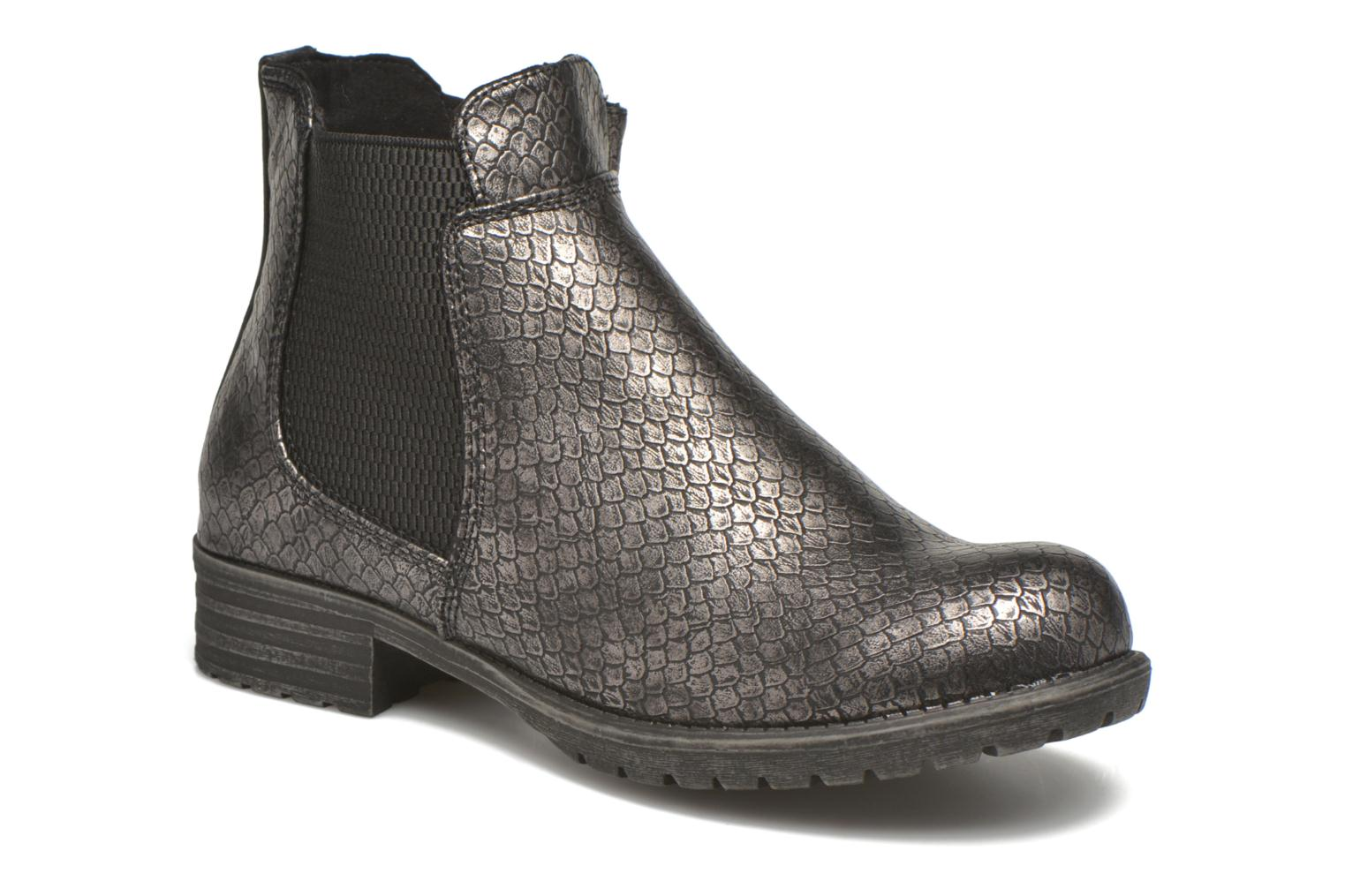 Ankle boots Bullboxer Camilla Silver detailed view/ Pair view