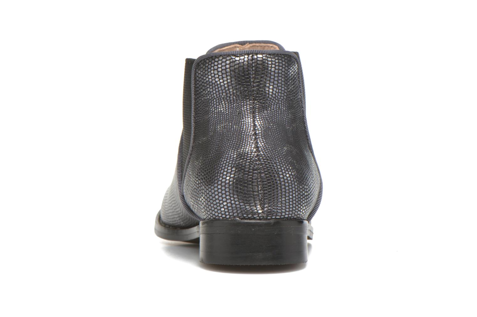 Ankle boots Mellow Yellow Mnalegro Silver view from the right