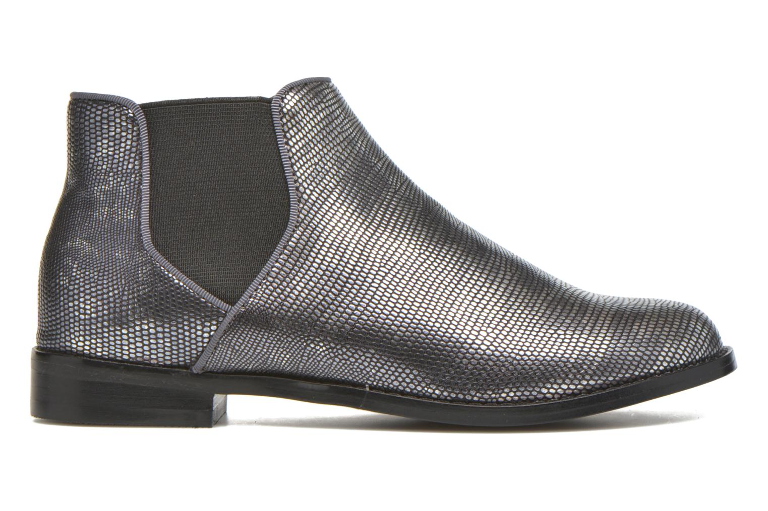 Ankle boots Mellow Yellow Mnalegro Silver back view