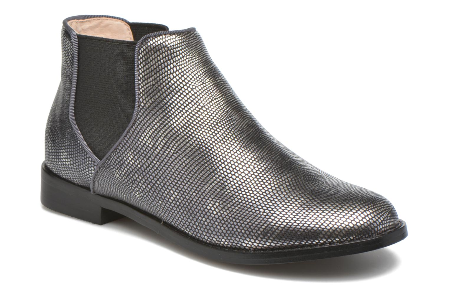 Ankle boots Mellow Yellow Mnalegro Silver detailed view/ Pair view