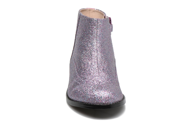 Bottines et boots Mellow Yellow Mnalto Rose vue portées chaussures