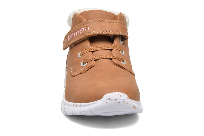 Baskets Kappa Cit Marron vue portées chaussures