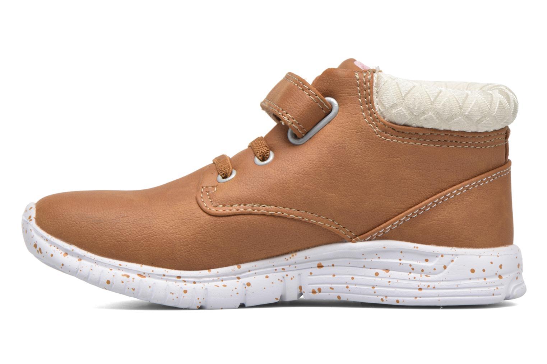 Sneaker Kappa Cit braun ansicht von vorne