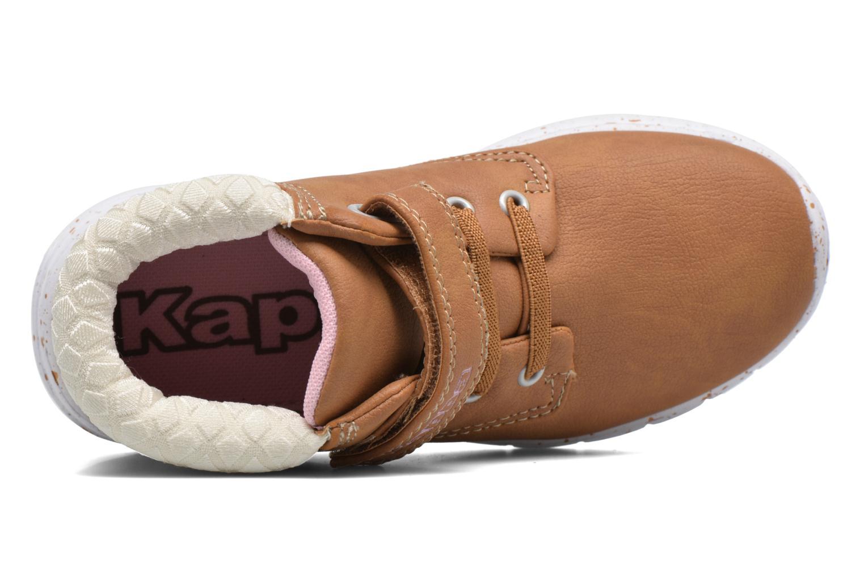 Sneaker Kappa Cit braun ansicht von links