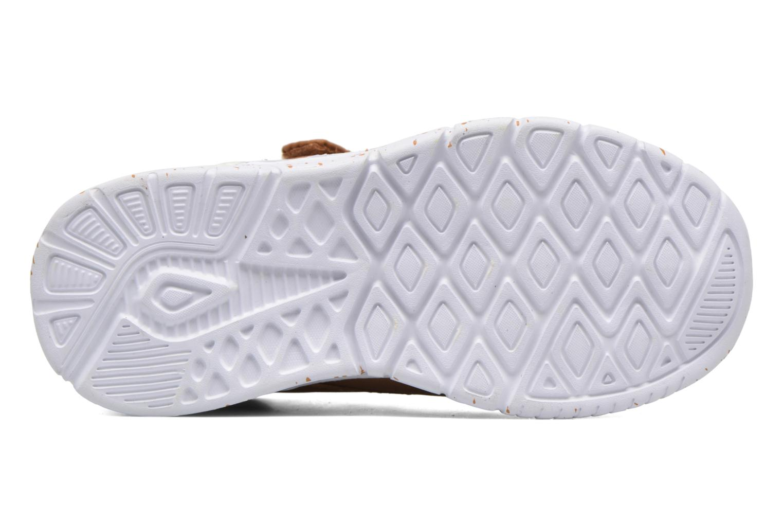 Sneaker Kappa Cit braun ansicht von oben