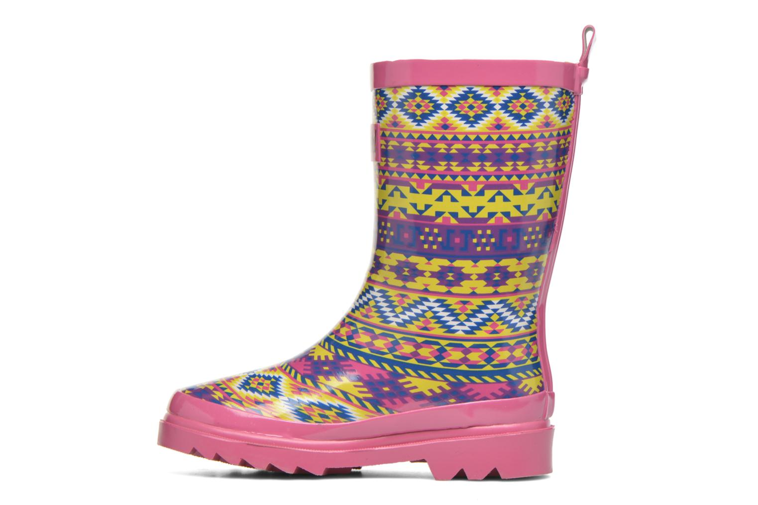 Bottes Be Only Smiley Cool Multicolore vue face
