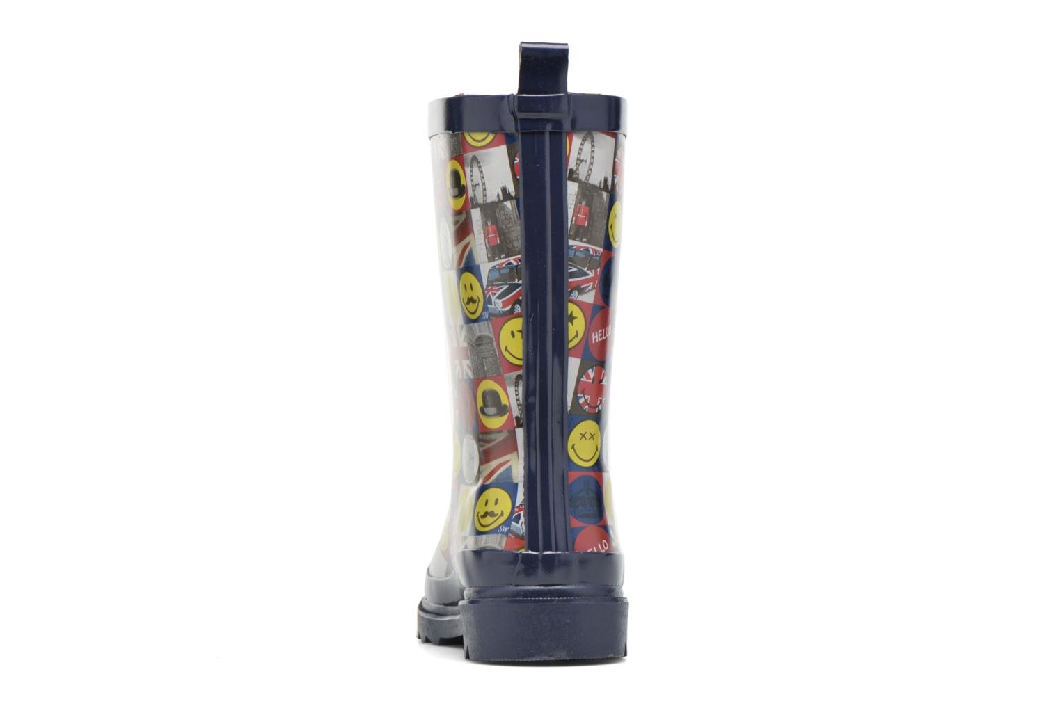 Botas Be only Smiley London Multicolor vista lateral derecha