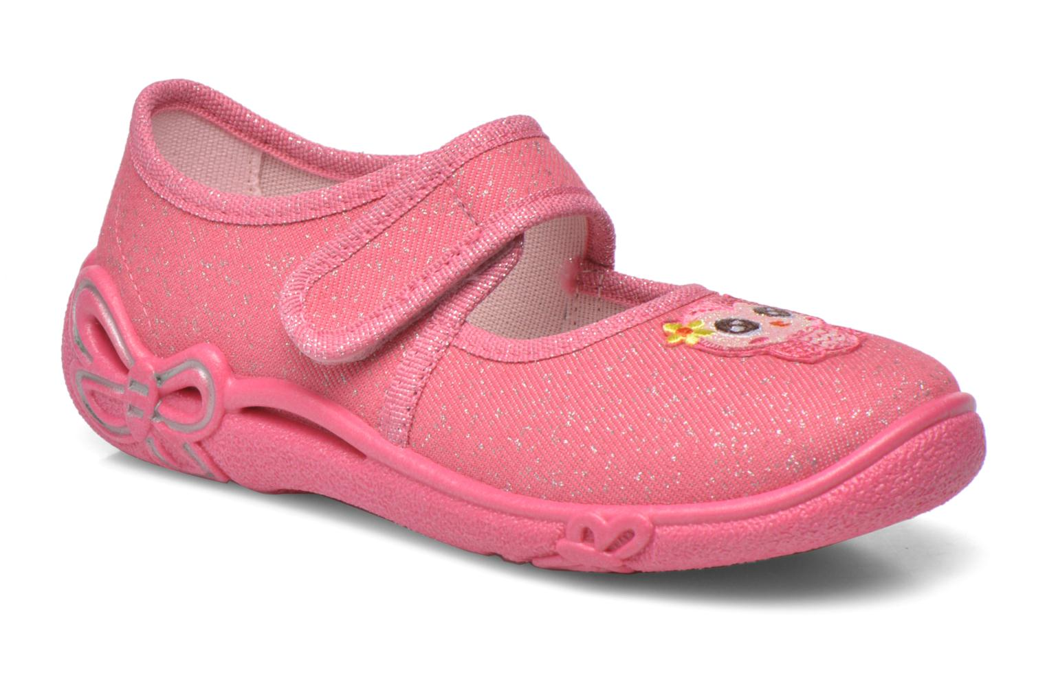 Slippers Superfit Belinda2 Pink detailed view/ Pair view