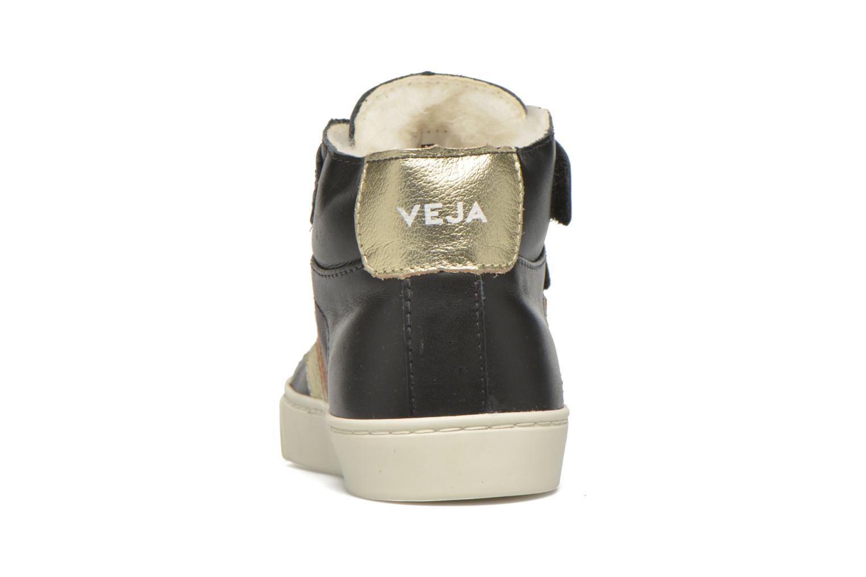 Esplar Mid Velcro Fured BLACK GOLD PIERRE