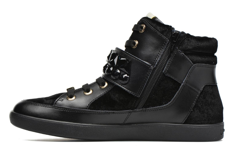 Sneakers Liu Jo Sneaker Alta Geranio Zwart voorkant