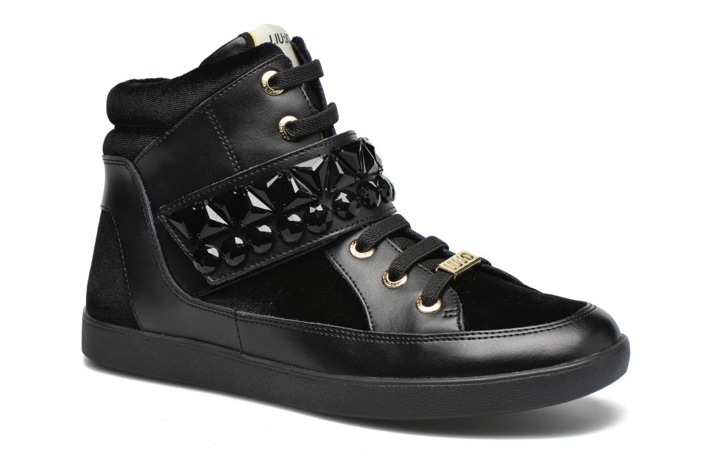 Sneakers Liu Jo Sneaker Alta Geranio Zwart detail