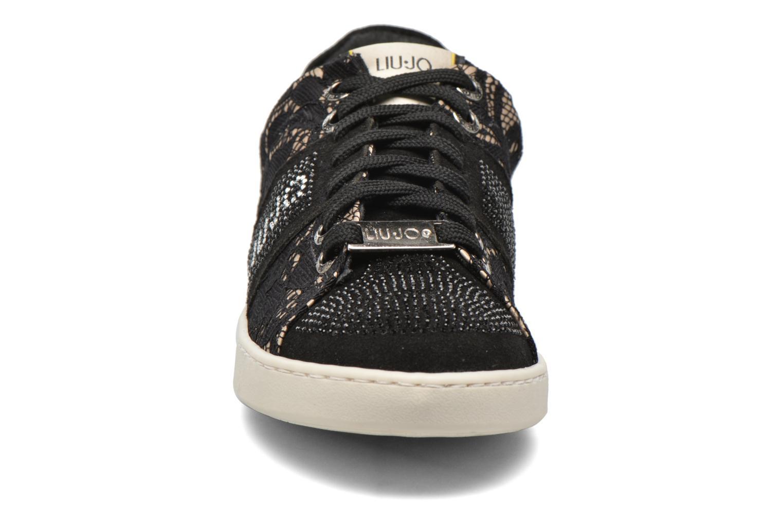 Baskets Liu Jo Sneaker Lacci mimi Noir vue portées chaussures