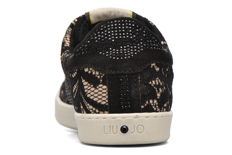 Sneaker Lacci mimi nero nude 03U36