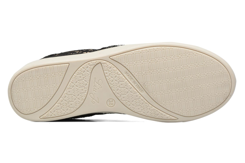 Baskets Liu Jo Sneaker Lacci mimi Noir vue haut
