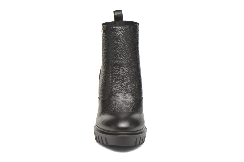 Bottines et boots Liu Jo Chunky boot Noir vue portées chaussures