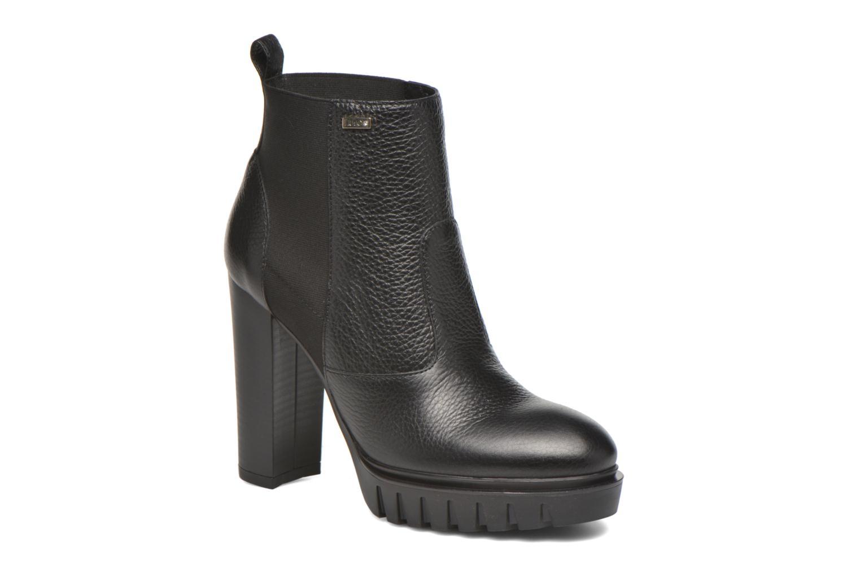 Chunky boot nero 22222