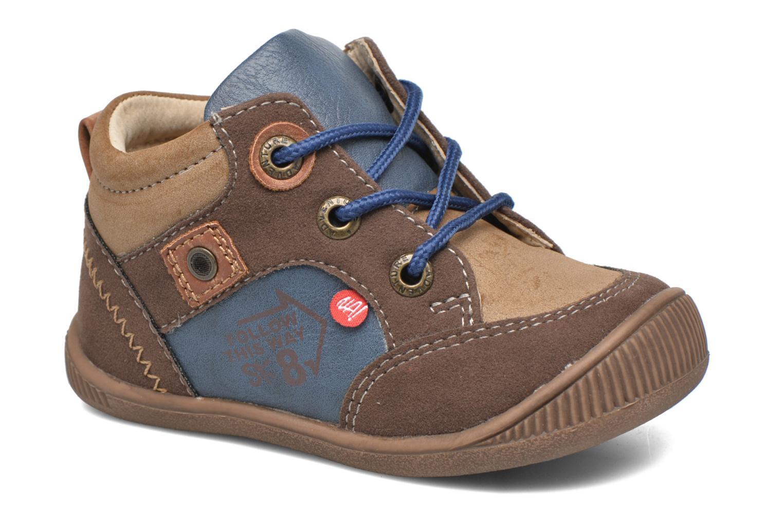 Bottines et boots NA! Ack Marron vue détail/paire