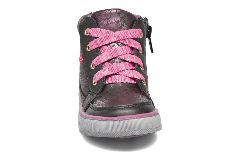 Baskets NA! Rimel Rose vue portées chaussures
