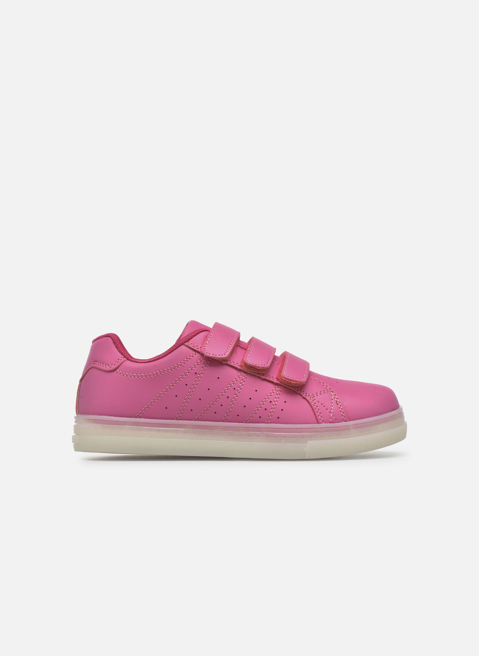 Sneaker Beppi Beps Light rosa ansicht von hinten