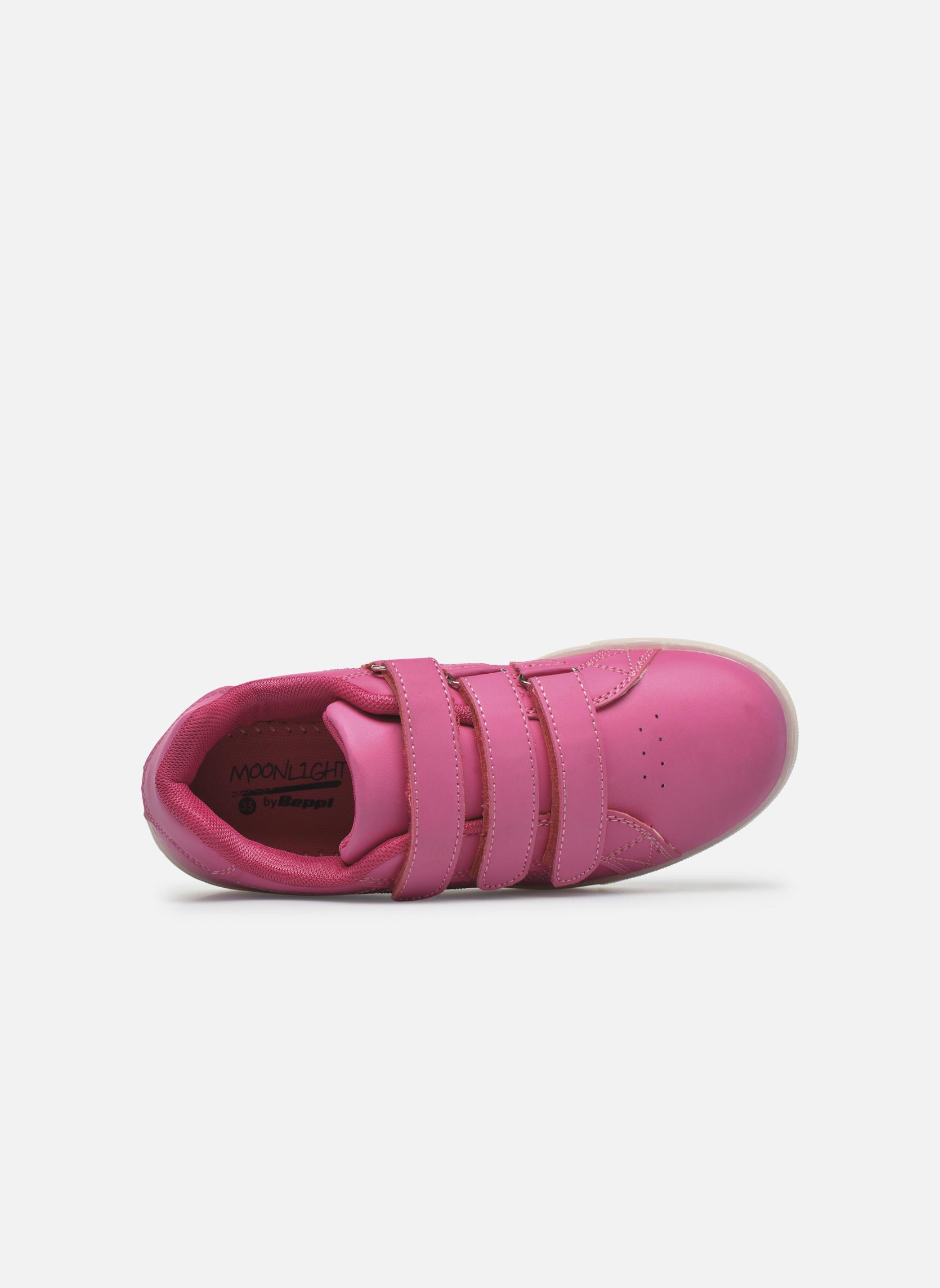 Sneaker Beppi Beps Light rosa ansicht von links
