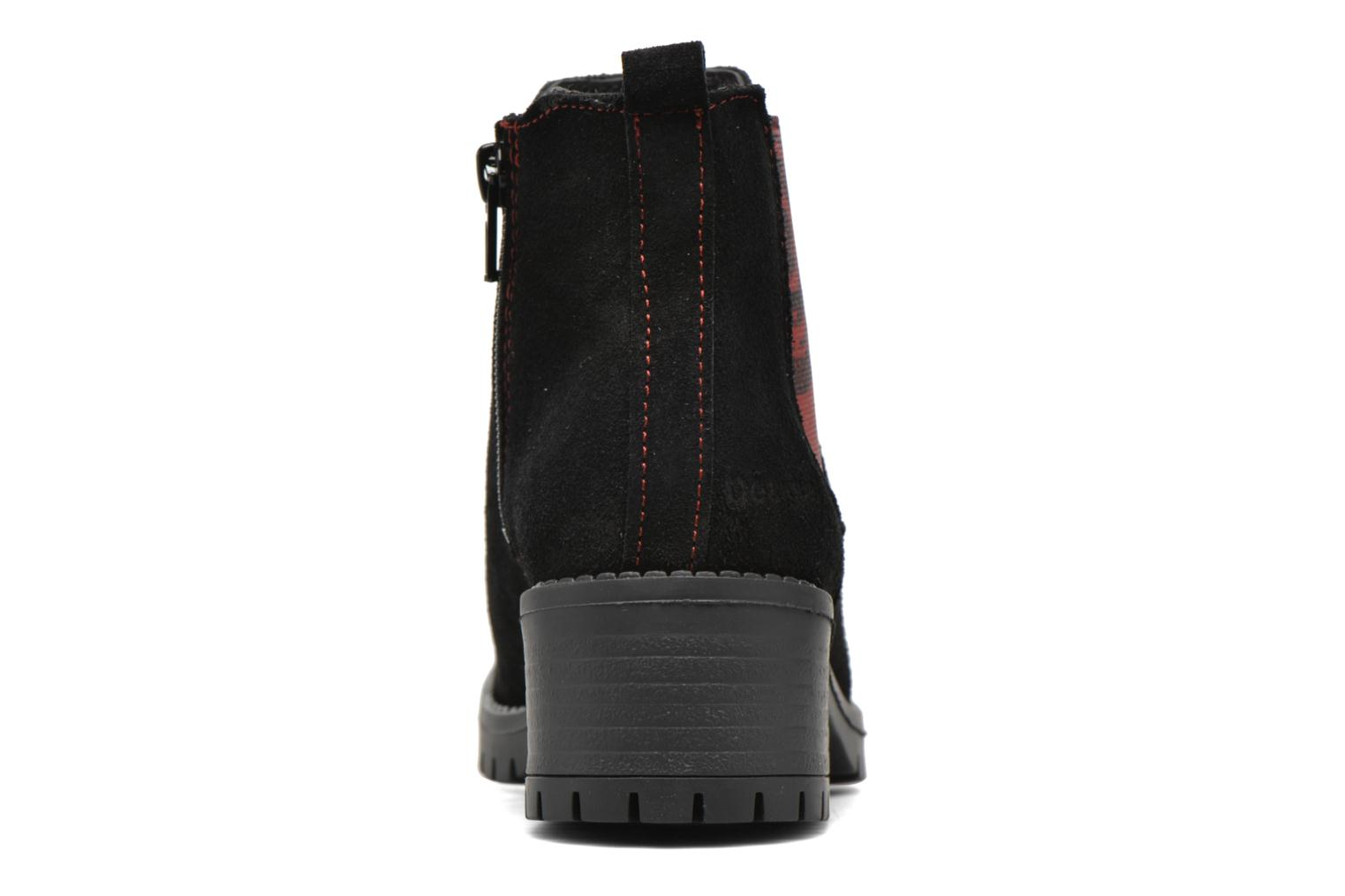Ankle boots Desigual Chelsea Black view from the right