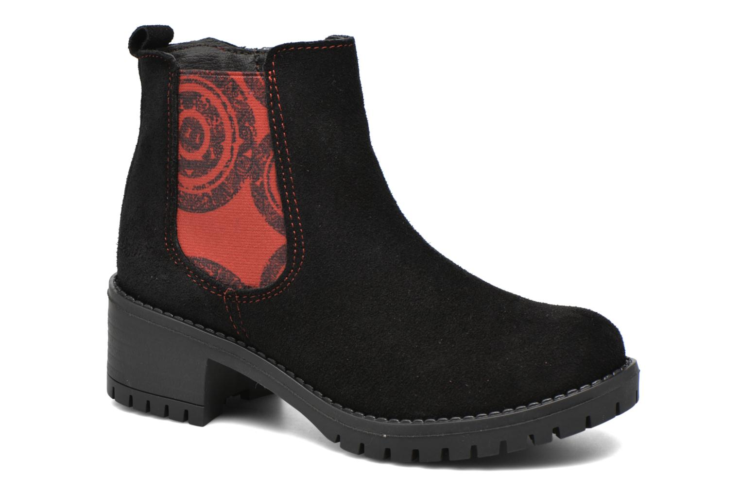 Ankle boots Desigual Chelsea Black detailed view/ Pair view