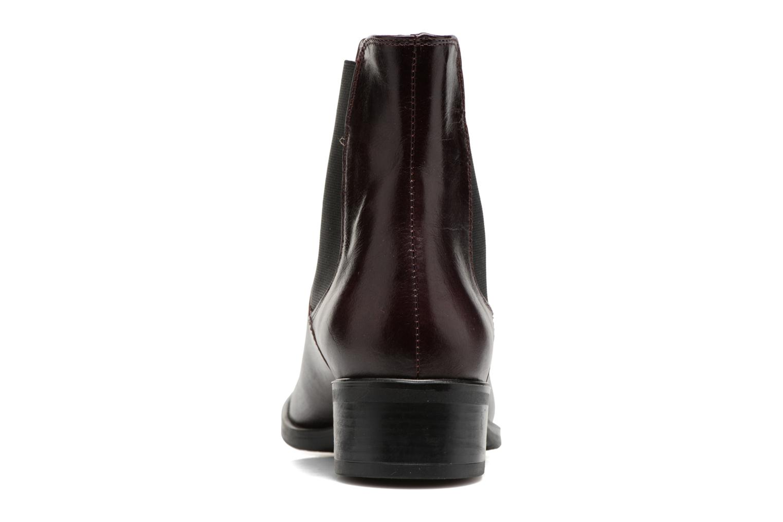 Bottines et boots Georgia Rose Abea Bordeaux vue droite