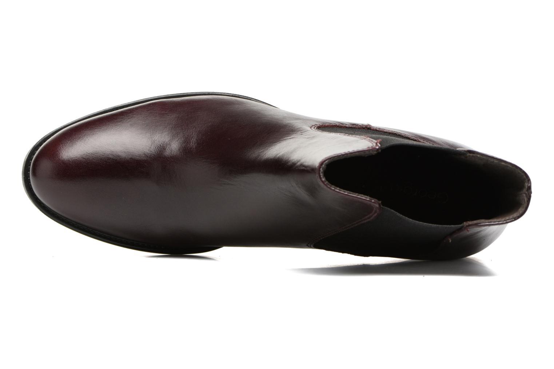 Bottines et boots Georgia Rose Abea Bordeaux vue gauche