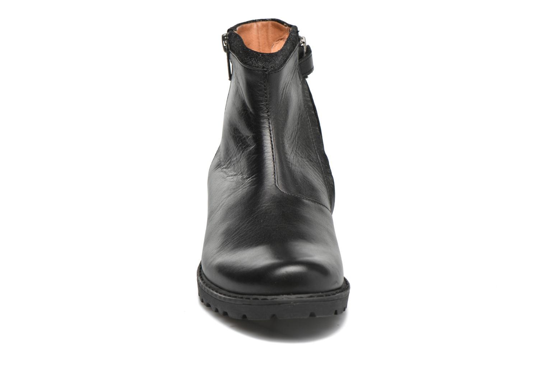 Bottines et boots Shwik Stampa Zip Noir vue portées chaussures