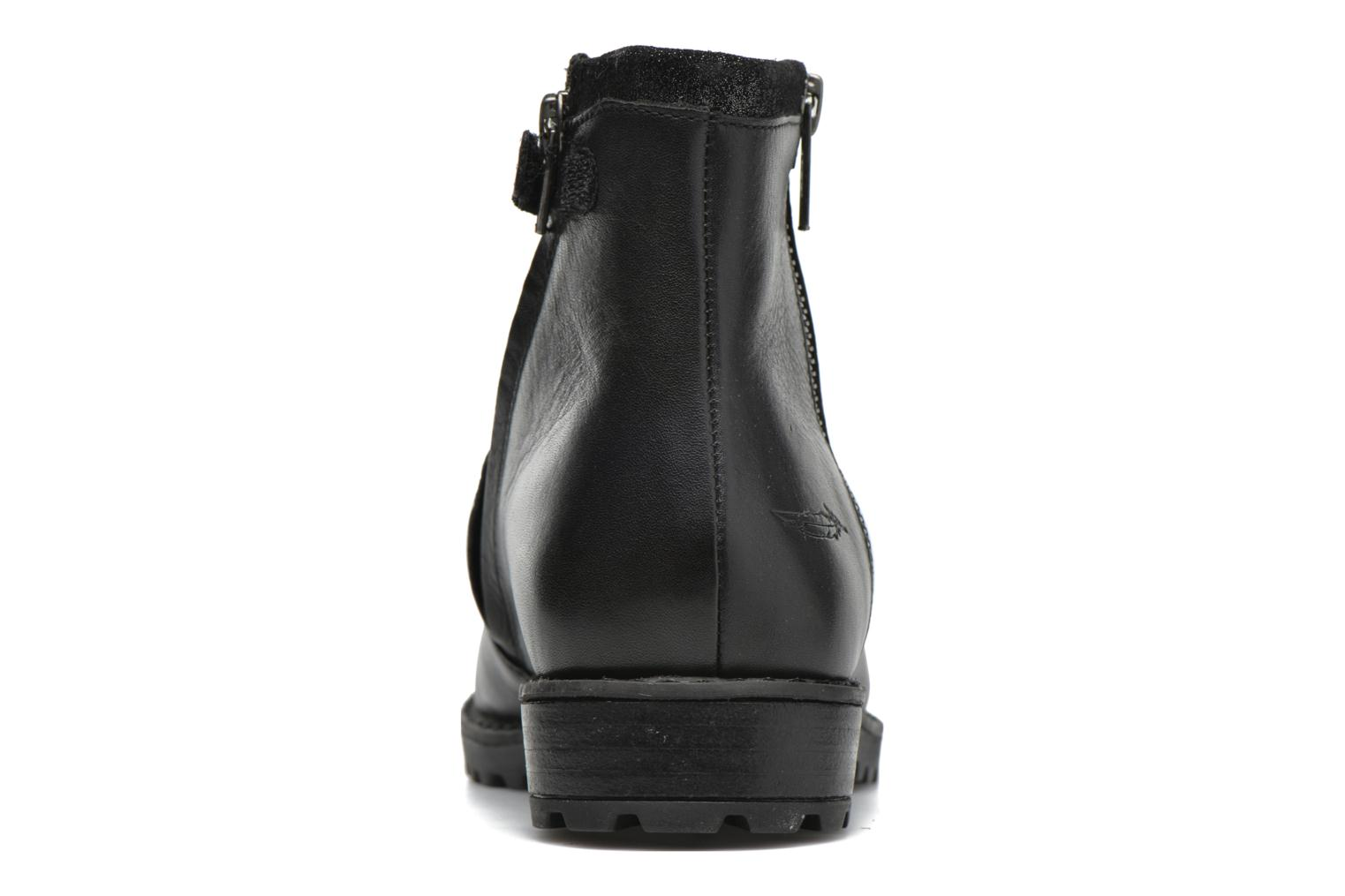 Ankle boots Shwik Stampa Zip Black view from the right