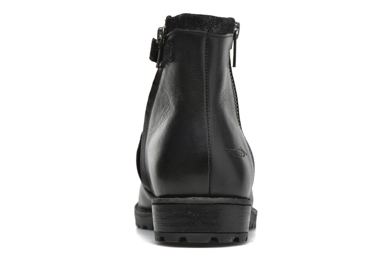 Bottines et boots Shwik Stampa Zip Noir vue droite