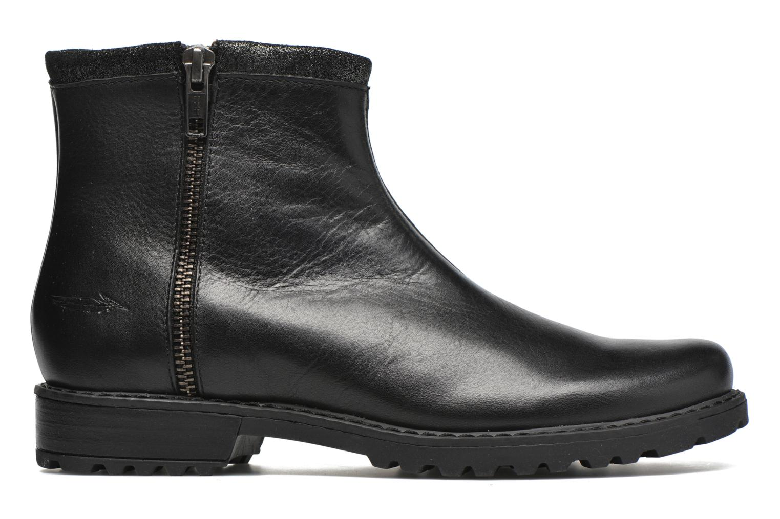 Ankle boots Shwik Stampa Zip Black back view
