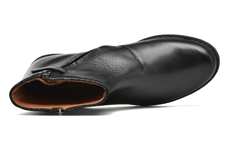 Bottines et boots Shwik Stampa Zip Noir vue gauche