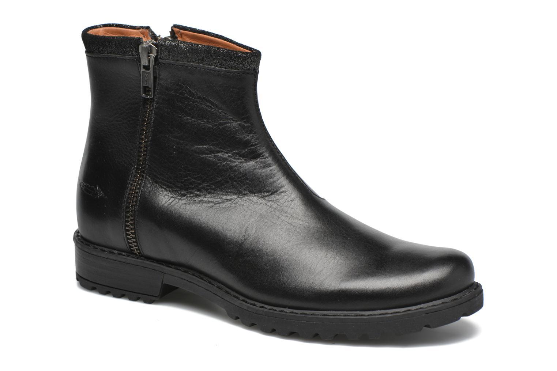 Bottines et boots Shwik Stampa Zip Noir vue détail/paire