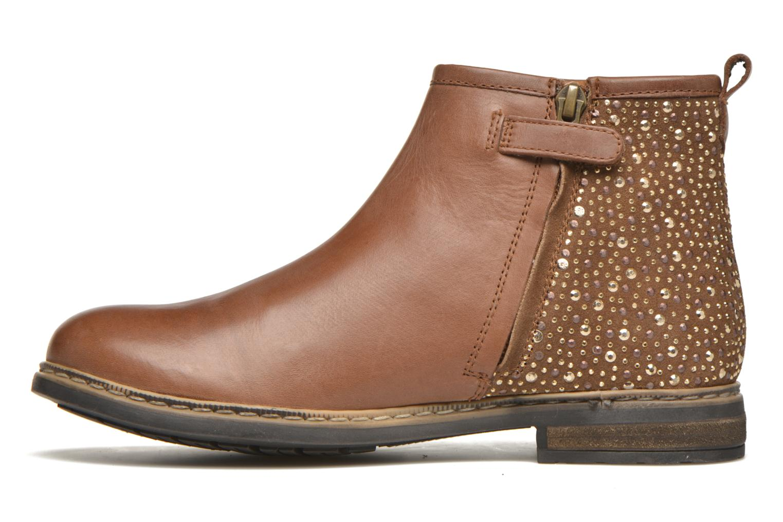 Stiefeletten & Boots Shwik Picpus Back Stain braun ansicht von vorne